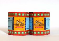 2 x 30 G TIGER BALM HERBAL RED OINTMENT MASSAGE RELIEF MUSCLE PAIN FREE SHIPPING