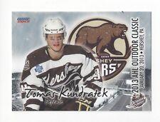 2012-13 AHL Outdoor Classic Tomas Kundratek (Kunlun Red Star)