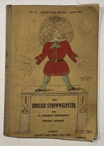 1905 The ENGLISH STRUWWELPETER NO. 46 DEANS RAG BOOK DR. H. HOFFMANN