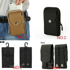 WAist Belt Bag Holster Pouch Pocket Card Wallet Case For LG Stylo 5/Samsung N10+