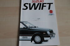 94209) Suzuki Swift Prospekt 09/1984