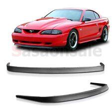 94 95 96 97 98 Ford Mustang GT Style Front Chin Spoiler Bumper Lip BOTH V8 V6