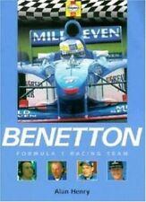 New, Benetton Formula 1 Racing Team (Formula 1 Teams), David Tremayne, Book