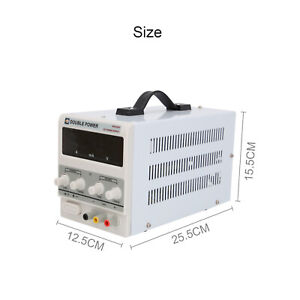 Adjustable Power Supply 30V 5/10A DC Digital LED Precision LAB Variable Linear