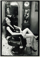 Photo Jean François Jonvelle Tirage Original Erotisme Salon de Coiffure 1990
