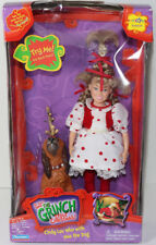 Playmates 2000 THE GRINCH CINDY LOU w/ MAX TALKING DOLL Toy R Us RARE CHRISTMAS