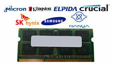 Lot of 5 4GB DDR3-1066 PC3-8500S 2Rx8 DDR3 SDRAM  Laptop Memory