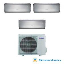 Condizionatore Inverter Trial Split Gree U-CROWN 9+9+12 9000+9000+12000 Btu A++