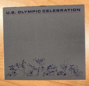 Olympian Autographs ,  Bob Beamon (29 ft) plus 3 Others at Disney Nov 1983