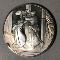 Judith and Holofernes The Genius of Michelangelo 1.26oz Sterling Silver Medal