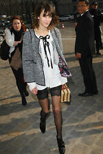Ciclisti pizzo nero TOPSHOP lace black cycling shorts as worn by Alexa Chung