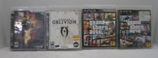 PS3 Resident Evil 5 Elder Scrolls 4 Grand Theft Auto V and Liberty City Games x4