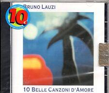 BRUNO LAUZI  CD 10 BELLE CANZONI D'AMORE sigillato MADE in ITALY