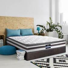 Giselle QUEEN Mattress Pillow Top Bed Size Bonnell Spring Firm Foam 21CM