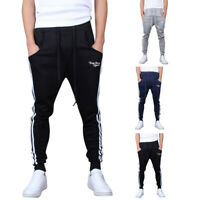 Mens Retro Style Iceland Silhouette Jogger Sweatpants Casual Long Pants with Drawstring and Pockets S-3XL