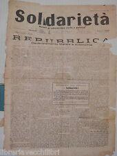15 Novembre 1945 Questione istituzionale monarchia e repubblica Scuola Pace di e