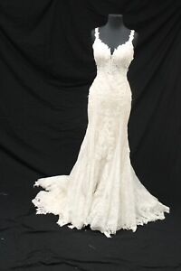 Martina Liana ML905 Bridal Wedding Gown Dress sz 10