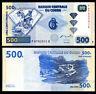 CONGO 500 FRANCS 2002 P 96 HDM UNC