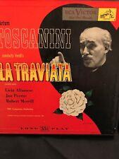 Verdi La Traviata 2 CD set Arturo Toscanini NBC Symphony RCA