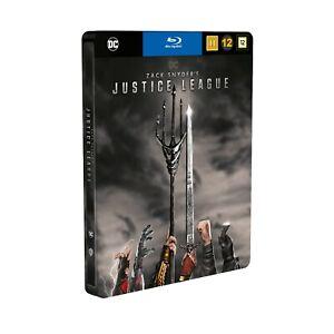 Zack Snyders Justice League Steelbook 2-Disc Blu Ray