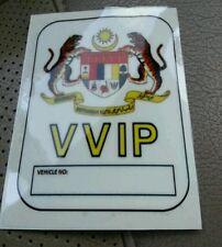 MALAYSIA VVIP Federal Jata Negara Emblem Car Windscreen Stickers