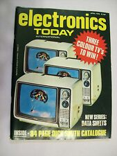 Electronics Today International magazine issue April 1976