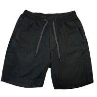 Lululemon Mens Athletic Gym Sport Running Shorts Black Size Small