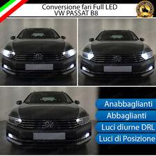 CONVERSIONE FULL LED ANABBAGLIANTI ABBAGLIANTI POSIZIONE DIURNA VW PASSAT B8