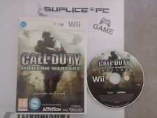 CALL OF DUTY MODERN WARFARE (SANS NOTICE) - WII - JEU FR