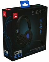 PS5 PS4 Headset Headphones Stealth Wired 3.5mm Stereo Gaming Mic Over Ear