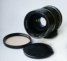 Rare! Carl Zeiss HFT Distagon f/1.4 35mm Lens Tri-Angle aperture Rollei QBM
