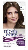 Clairol Nice N Easy Non-Permanent Hair Dye No Ammonia Medium Golden Brown 78