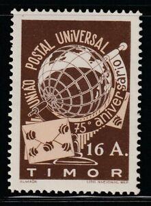 Timor   1949   Sc # 255   UPU   VLH   (3-2513)