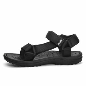 Mens Beach Slingbacks Sandals Open Toe Walking Non Slip Sports Flats Shoes