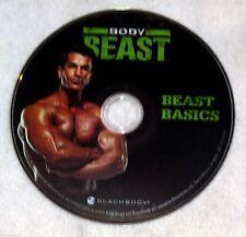 BODY BEAST - BEAST BASICS - NEW DVD