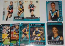Hamish Hartlett Port Adelaide Teamcoach & select cards x 9 - inc 2 silvers