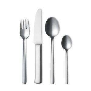 Georg Jensen. Stainless Steel 16 pcs. Cutlery Set - Bo Bonfils.