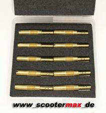 10x Nebendüse Nebendüsenset 55-80 passend für Keihin PWK Vergaser 33 35 36 38 39