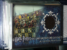 HARRY POTTER AND THE GOBLET OF FIRE ULTRA RARE PROP CARD P7 STADIUM BANNERS GOF