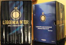 BOX COFANETTO 8 DVD LEGGENDA FC INTER 2010 TRIPLETE OPERA COMPLETA MOURINHO