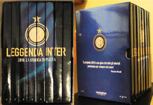 BOX COFANETTO 8 DVD LEGGENDA FC INTER 2010 TRIPLETE TRIPLETTA MOURINHO
