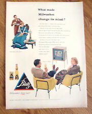 1952 Blatz Beer Ad  What Made Milwaukee Change its Mind?