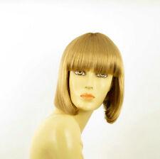 Perruque femme courte blond doré FLORENCE 24B