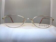 9d1db77163d MARTINE SITBON GOLD EYEGLASS FRAME MODEL 6532