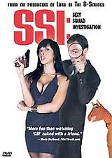 SSI: Sexy Squad Investigation (DVD, 2007) (S)