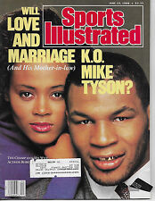 SPORTS ILLUSTRATED FEATURING MIKE TYSON and ROBIN GIVENS FROM JUNE 13, 1988