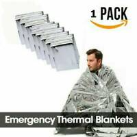 Space Blanket Thermal Thermo Foil Emergency Survival Rescue First Aid Camping