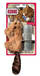 KONG Beaver Refillable Catnip Toy (Colors Vary)