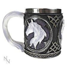 Unicorn Tankard Mug Nemesis Now 10.5cm High Celtic