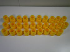 Artin Slot Car Track Pillars (Yellow 29 Pieces) Bridge Posts